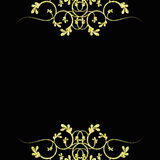 Configuration d'or Illustration Stock