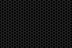 Configuration d'hexagone Photos libres de droits