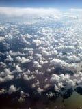 configuration d'océan de nuage dispersée Photos stock