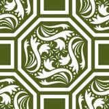 Configuration d'octogone Image stock