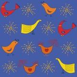 Configuration d'oiseaux Image libre de droits
