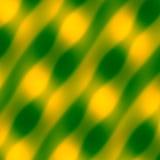 Configuration d'onde abstraite Fond de vert jaune Illustration décorative brouillée Texture d'art Illustration colorée par doux I Photos libres de droits