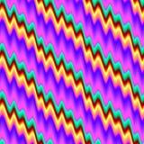 Configuration d'onde colorée abstraite Fond onduleux multicolore de texture Vecteur sans joint Photographie stock