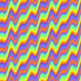 Configuration d'onde colorée abstraite Fond onduleux multicolore de texture Vecteur sans joint Image libre de droits