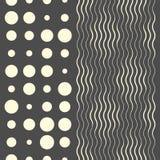 Configuration d'onde sans joint Conception fine de texture illustration stock