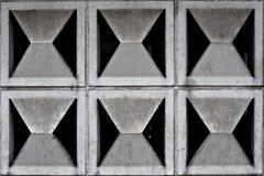 Configuration d'un mur en béton Image libre de droits