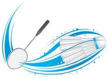 Configuration de badminton Image libre de droits