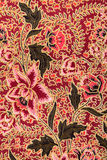 Configuration de batik avec des roses Image libre de droits