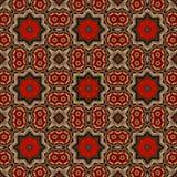 Configuration de batik et traitement par ordinateur Image stock