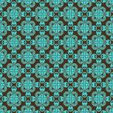 Configuration de Brown et de sarcelle d'hiver Images stock