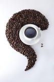 Configuration de café Photo libre de droits