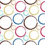 Configuration de cercle illustration stock