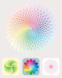 Configuration de couleurs Images stock