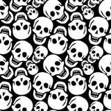 Configuration de crânes Images libres de droits
