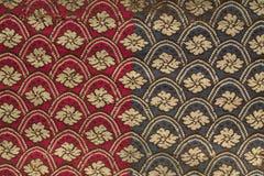 Configuration de cru sur le tissu Images stock