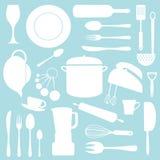 Configuration de cuisine illustration libre de droits