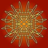 Configuration de cuivre de Swirly Whirly Photographie stock libre de droits
