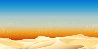 Configuration de désert illustration de vecteur