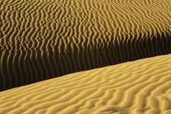 Configuration de désert Photos libres de droits