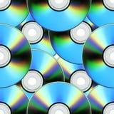 Configuration de disque compact Images stock