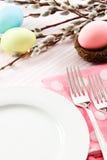 Configuration de fête de Tableau de Pâques Images stock