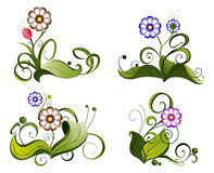 Configuration de fleur. Illustration Stock