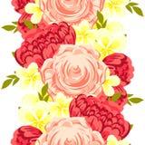 Configuration de fleur Image stock