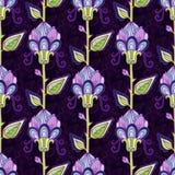 Configuration de fleur Image libre de droits