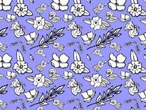 Configuration de fleur Photographie stock libre de droits