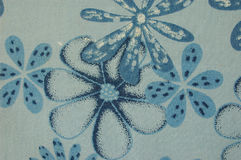 Configuration de fleur bleue Photographie stock libre de droits
