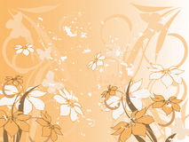 Configuration de fleur décoratif illustration stock