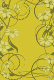 Configuration de fleur décoratif Images libres de droits