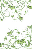 Configuration de fleur décoratif illustration de vecteur