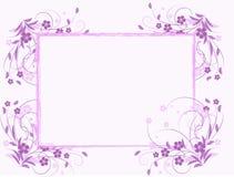 Configuration de fleur décoratif Images stock
