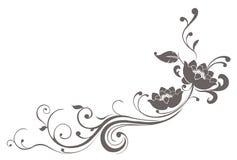 Configuration de fleur de lotus Image libre de droits