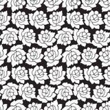 Configuration de fleur rose sans joint Photos libres de droits