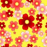 Configuration de fleur sans joint Photos stock