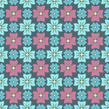 Configuration de fleurs Images libres de droits