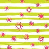 Configuration de fleurs lumineuse Images stock