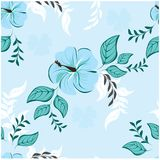 Configuration de fleurs sans joint Image libre de droits