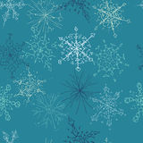 Configuration de flocon de neige Image libre de droits