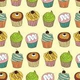 Configuration de gâteau Photo stock