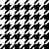 Configuration de Houndstooth Images stock