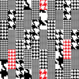 Configuration de Houndstooth Photo libre de droits