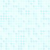 Configuration de Houndstooth Fond sans couture cyan de vecteur Photos stock