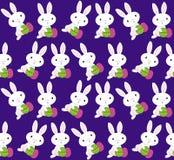 Configuration de lapins de Pâques Photo stock