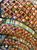Configuration de mosaïque détaillée Photo libre de droits