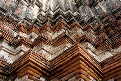 Configuration de mur de briques photo stock