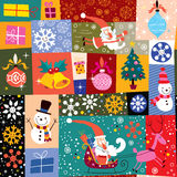 Configuration de Noël Image libre de droits
