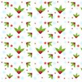 configuration de Noël sans joint Photographie stock libre de droits